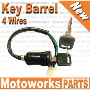Key Barrel 4 wire Ignition Key Barrel switch
