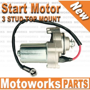 STARTER MOTOR 3 Stud Top Mount Start STARTER MOTOR