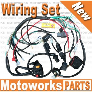 solenoid wiring harness 150cc go kart get free image about wiring diagram