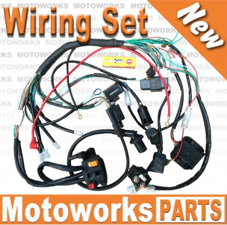 Wiring Harness – Gy6 Wiring Harness