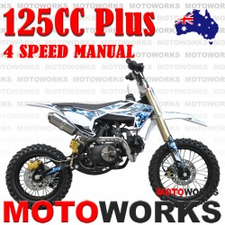 125cc Dirt Bike PLUS