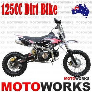 125CC DIRT BIKE PINK