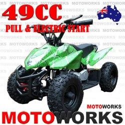49cc Electric Start ATV