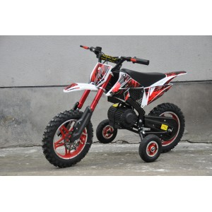 500W Electric Dirt Bike Green